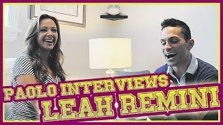 A Fun Chat With Leah Remini!