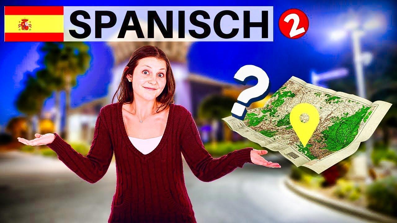 spanisch lernen f r anf nger lektion navigation und wegbeschreibung 2 deutsch spanisch. Black Bedroom Furniture Sets. Home Design Ideas