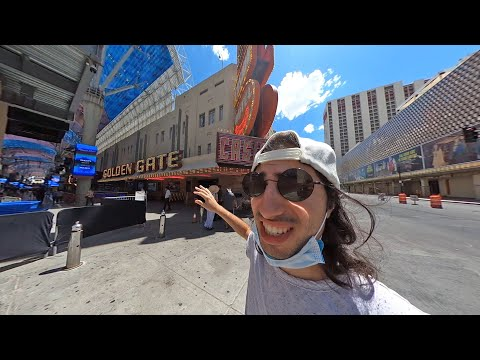I Stayed at the CHEAPEST Hotel in all of Las Vegas ($16 a night!)