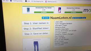 2019 Brandweer Aalst-Waalre loterij