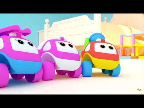 Видео: Машинки Бибизнайки -  Ё+Ж  Песенки - Учим буквы - Теремок песенки