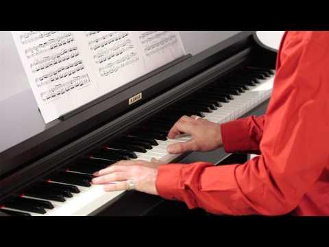 KAWAI KDP90 Digital Piano DEMO - ENGLISH