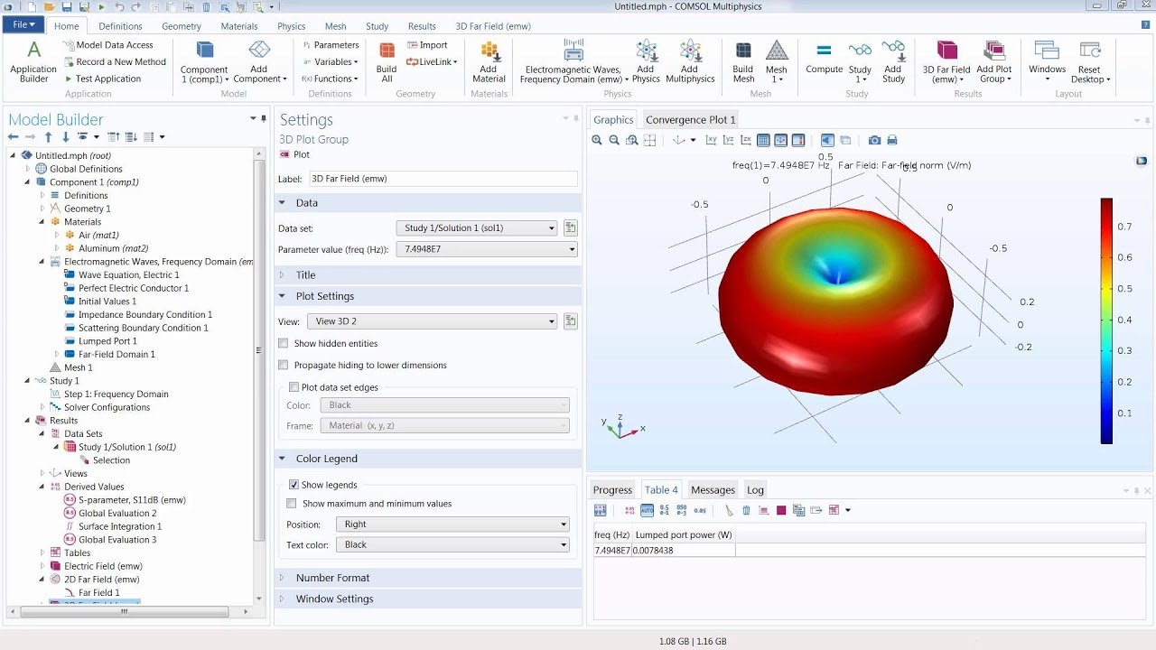 How to Model Antennas in COMSOL Multiphysics®