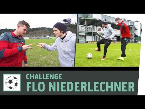 1-vs-1-Tor-Challenge vs. Florian Niederlechner | SC Freiburg | Kickbox