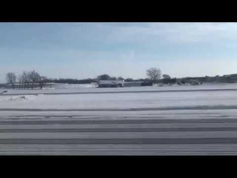 Takeoff at Dane County Regional Airport-Truax Field RWY 36 MSN KMSN