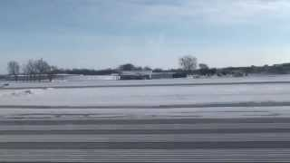 Takeoff at Dane County Regional Airport-Truax Field RWY 36 MSN KMSN 1080p