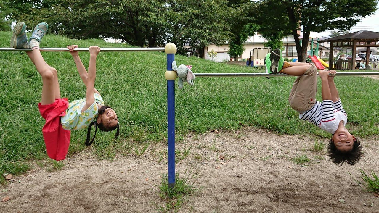 【公園遊び】運動会に向けて かけっこ対決【遊具遊び】れひはチャンネル