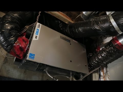 North Prairie Homes -- Cleaning your HRV Filter and Unit