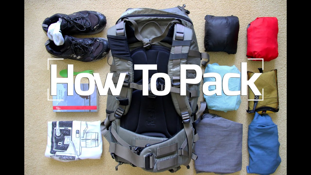 Travel tips packing hacks tips essentials youtube for Best way to pack shirts