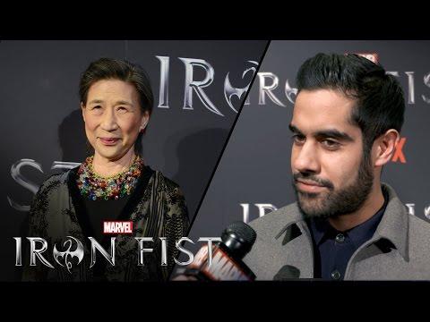 Wai Ching Ho & Sacha Dhawan on Marvel's Iron Fist