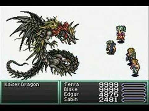 Final Fantasy VI (GBA) Kaiser Dragon