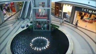 Glass Otis Gen 2 elevator + going to 'hidden' office floor @ Galeria Kazimierz