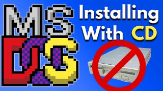 DOS PC Setup Tutorial - Install MS DOS