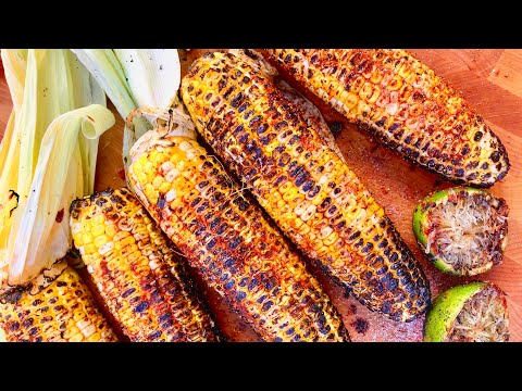 Indian Grilled Corn