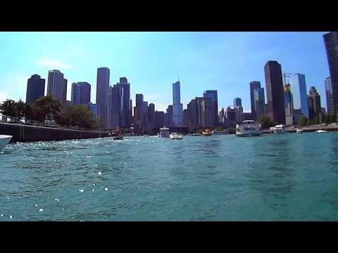Chicago River Downtown Full Tour on Yamaha Waverunner Jet Ski