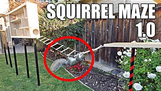 Man vs. Squirrel- Building the Perfect Squirrel Proof Bird Feeder