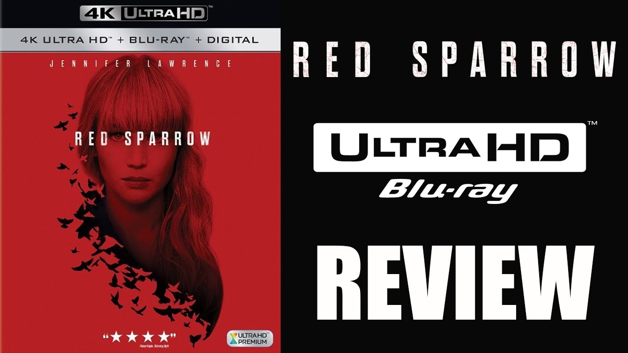 RED SPARROW 4K Bluray Review - YouTube