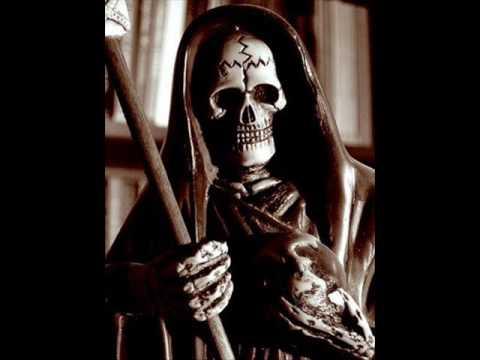 Cartel de santa - Santa muerte