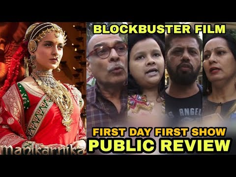 Manikarnika Movie PUBLIC Review | First Day First Show | Blockbuster Film | Kangana Ranaut