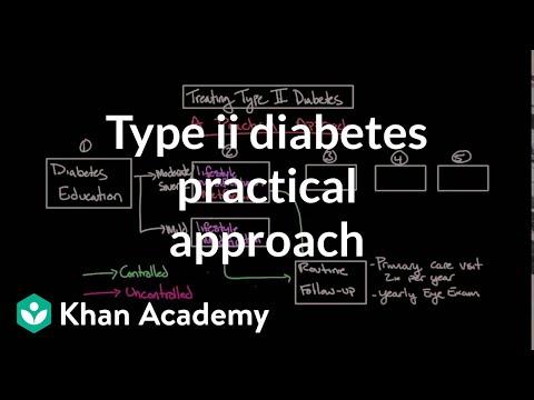 Treating type II diabetes - A practical approach   NCLEX-RN   Khan Academy