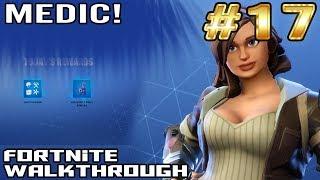 Fortnite Walkthrough #17 - Medic!   Day 3 and 4 Rewards   Stonewood