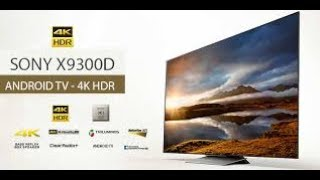 Sony Bravia 55 inch X9300D 4K smart LED android LED