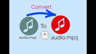 ☑️ How To Convert m4a audio to mp3 audio 🎧 File Without Apps , By Media Player