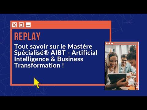 REPLAY du webinaire sur le Mastère Spécialisé® Artificial Intelligence & Business Transformation !