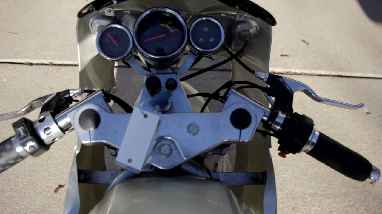 pocket bike cat eye fs509 electric start [ 1280 x 720 Pixel ]