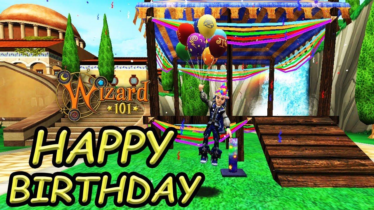 Happy 9th Birthday Wizard101 Youtube