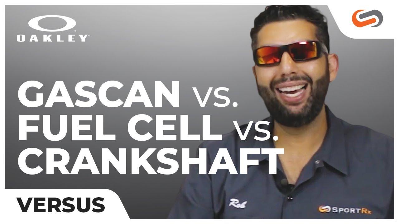 a2e510b349fb Oakley Gascan vs Oakley Fuel Cell vs Oakley Crankshaft | SportRx ...