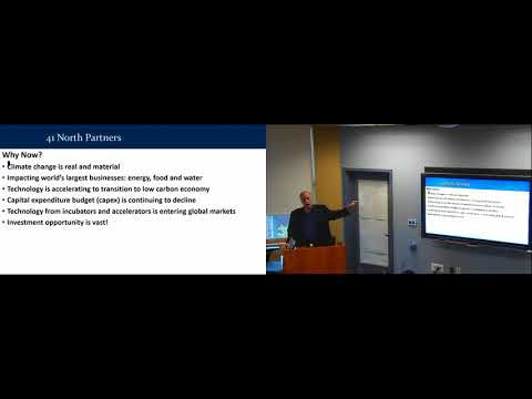 Sustainability Seminar Series: Transitioning to a Clean Energy Economy (Peter Fusaro)