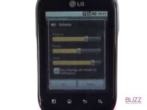Changing your ring tone | LG Optimus Chat | The Human Manual