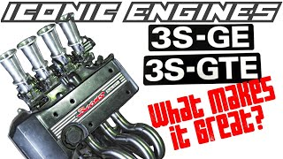 Toyota 3SGE 3SGTE - What makes it GREAT? ICONIC ENGINES #5