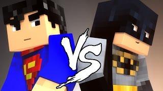 Супермен против Бэтмена трейлер на русском (MineCraft)