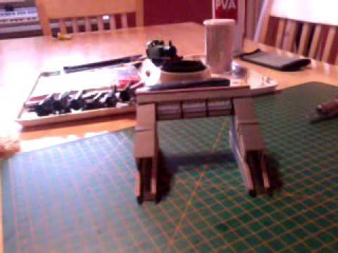 Model railway bridge