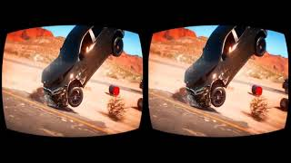 3D 360VR Need for Speed PAYBACK VR Gameplay 3D SBS for VR BOX 3D not 360