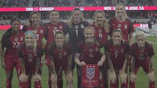 A look back at the USWNT's visit to Avaya Stadium