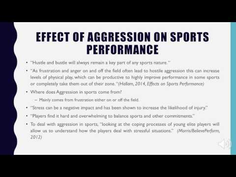 Haley Boroch: Aggression In Sports