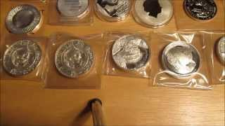 My top 5 Silver Coin/Round Picks for investing!