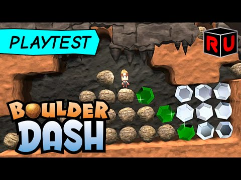 Boulder Dash 30th Anniversary PC Edition Adds Level Editor! (Boulder Dash Gameplay Review)