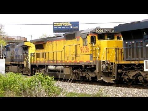 Former Union Pacific 9026 on CSX Q409