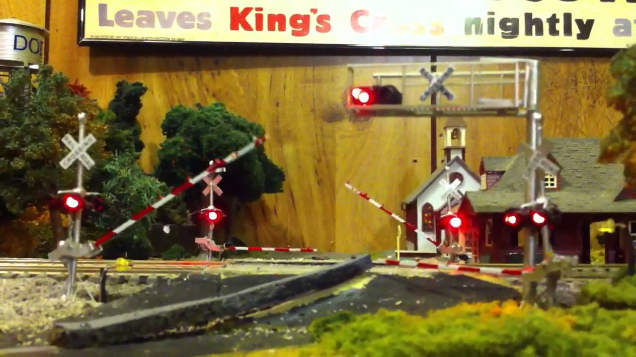 Ho Scale Quad Gates Youtube