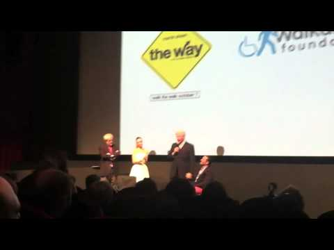 "President Bill Clinton Speaks About the Walkabout Foundation at the New York Premiere of ""The Way"""