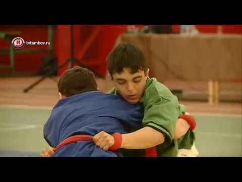 В Тамбове впервые прошло первенство России по борьбе на поясах