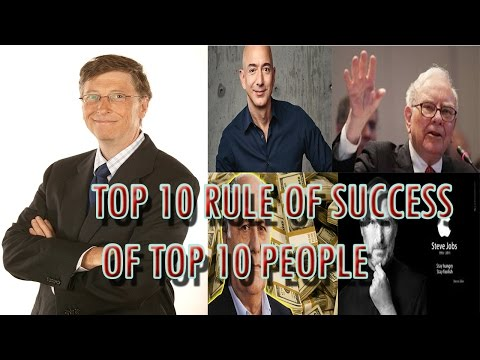 Top 10 Rule of Top 10 People