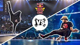 Mounir vs Lilou - Semi Finals - Red Bull BC One World Final 2013 Seoul