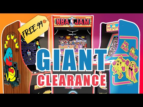 Arcade1up CLEARANCE! Check Your Local Walmarts NOW from Unqualified Critics