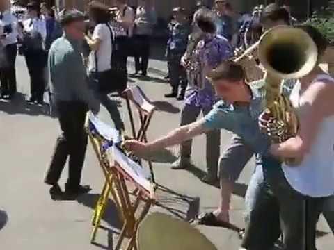 ПРИКОЛ. Клубняк в исполнении Духового оркестра