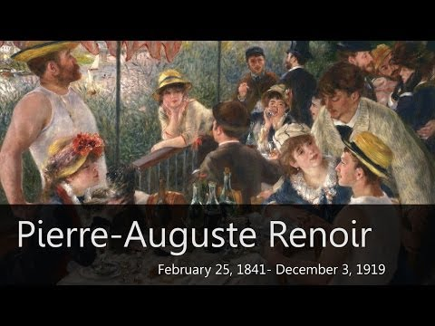 Pierre-Auguste Renoir Biography - Goodbye-Art Academy poster